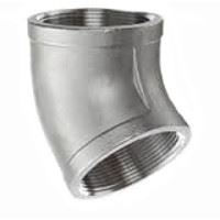 1 inch NPT threaded 45 deg 304 Stainless Steel elbow