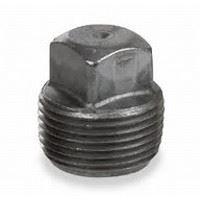 ¼ inch NPT merchant steel square head plug