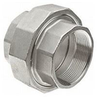 2 ½ inch NPT 304 Stainless Steel Union