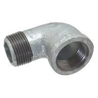 ⅛ inch NPT threaded 90 deg galvanized street elbow