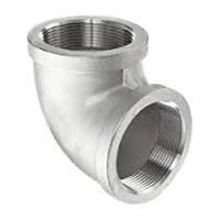 ¼ inch NPT threaded 90 deg 316 Stainless Steel elbow