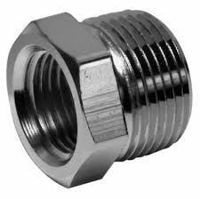 Picture of ½ x ⅛ inch NPT 304 Stainless Steel Reduction Bushings