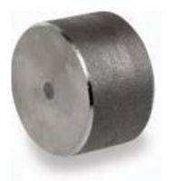 Picture of 1 ¼ inch forged carbon steel socket weld cap