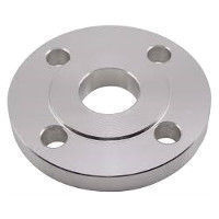 Picture of 2-1/2 x 2 inch class 150 carbon steel slip on reducing flange