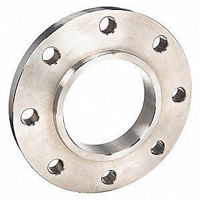 Picture of 8 x 4 inch class 150 carbon steel threaded reducing flange