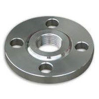 Picture of 2-1/2 x 2 inch class 150 carbon steel threaded reducing flange