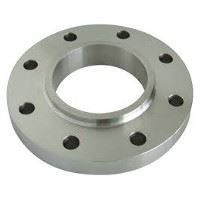 Picture of 4 x 1-1/4 inch class 150 carbon steel threaded reducing flange