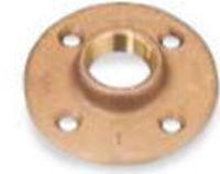 Picture of 1-1/4 inch NPT Class 150 Bronze Floor Flange