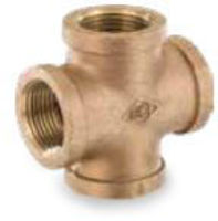 Picture of ⅜ inch NPT threaded bronze crosses