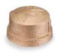 Picture of ¼ inch NPT threaded bronze cap