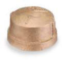 Picture of 2 ½ inch NPT threaded lead free bronze cap
